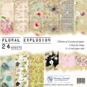 Floral Explosions 6x6 Paper Pack
