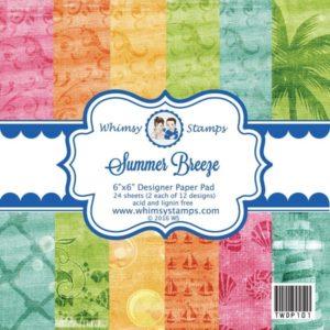 Summer Breeze 6x6 Paper Pad