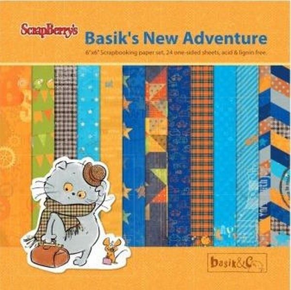 Basik's New Adventure 6x6 Paper Pack
