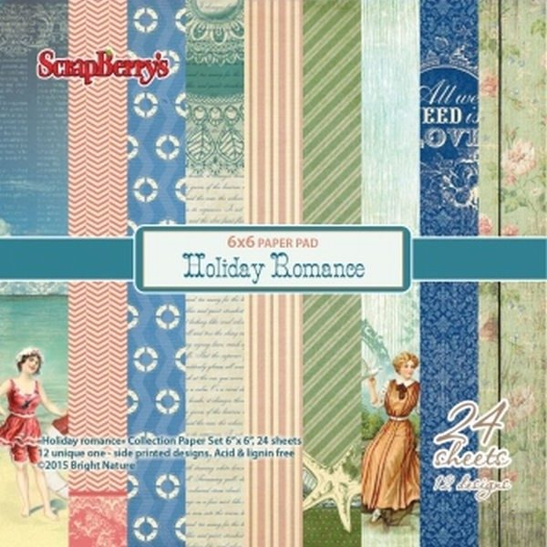 Holiday Romance 6x6 Paper Pack