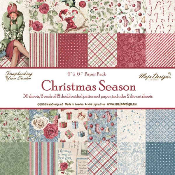 Christmas Season 6x6 Paper Pack