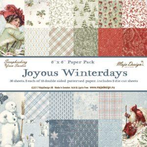 Joyous Winterdays 6x6 Paper Pack