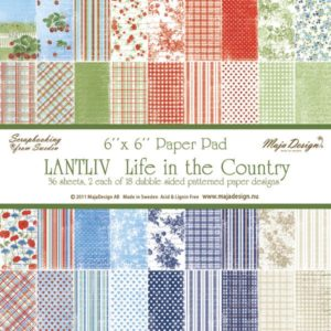 Life in the Country 6x6 Paper Pack