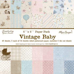 Vintage Baby 6x6 Paper Pack