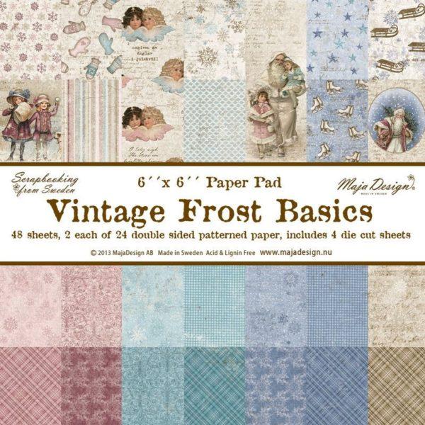 Vintage Frost Basics 6x6 Paper Pack