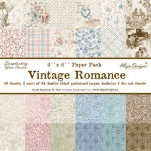 Vintage Romance 6x6 Paper Pack