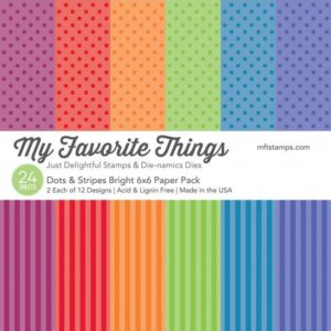 Dots & Stripes Bright 6x6 Paper Pack