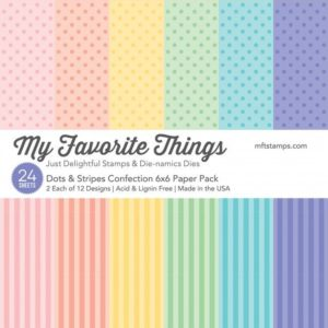 Dots & Stripes Confection 6x6 Paper Pack