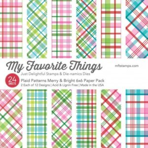 Plaid Patterns Merry & Bright 6x6 Paper Pack