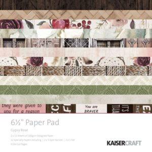 Gypsy Rose Paper Pad