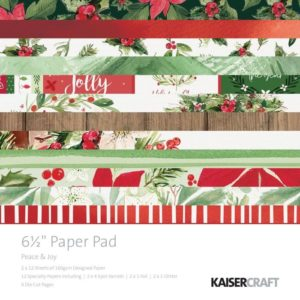 Peace & Joy Paper Pad