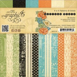 Artisan Patterns & Solids 6x6 Paper Pad