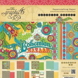 Bohemian Bazaar 12x12 Paper Pad