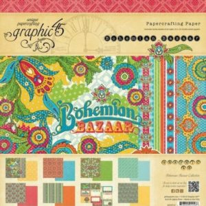 Bohemian Bazaar 8x8 Paper Pad