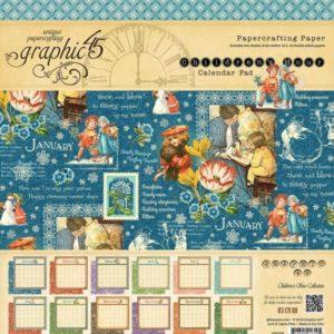 Children's Hour 12x12 Calendar Paper Pad