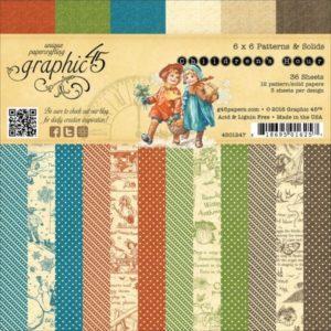 Children's Hour Patterns & Solids 6x6 Paper Pad