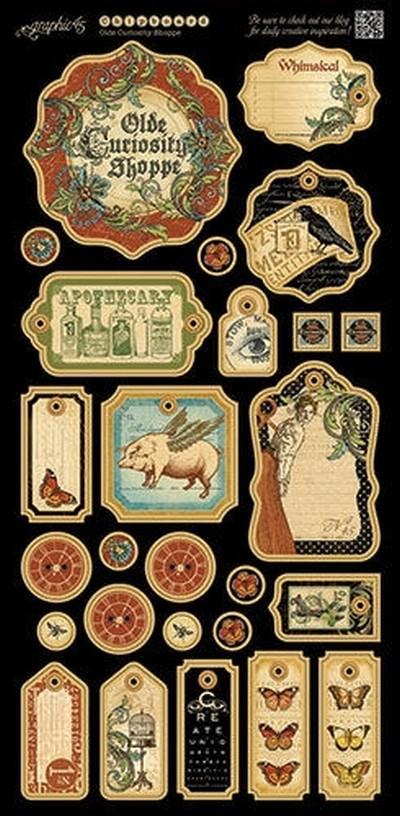 Deluxe Collectors Edition - Olde Curiosity Shoppe 12x12