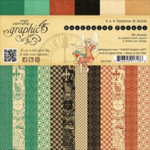 Enchanted Forest Patterns & Solids 6x6 Pad