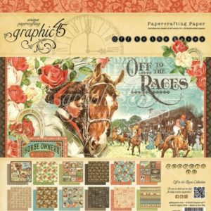 Off to the Races 12x12 Paper Pad