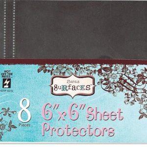 6 x 6 Sheet Protectors