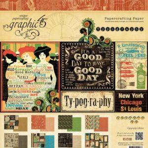 Typography 12x12 Paper Pad