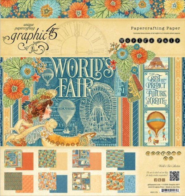 World's Fair 8x8 Paper Pad