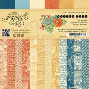 World's Fair Patterns & Solids 6x6 Paper Pad