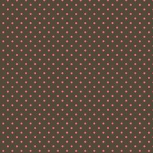 Pin Dots - Watermelon on Dk. Truffle