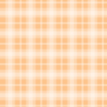 Fog Plaid - Orange Sherb