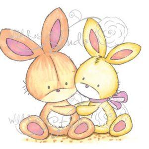 Bunnies Together