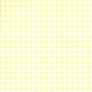 Gingham - Pale Yellow