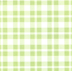 Wide Line Plaid - Celery