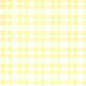 Wide Line Plaid - Yellow