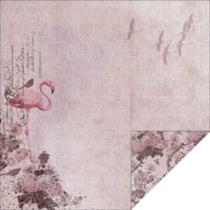 Enchanted Gardens - Pink Flamingos