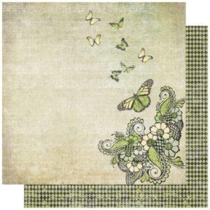 Retro Twist - Fantasy Butterfly