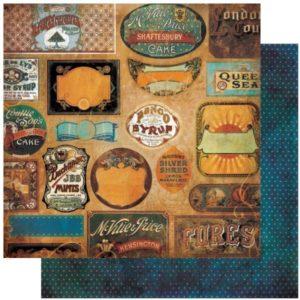Weekend Market - Vintage Labels