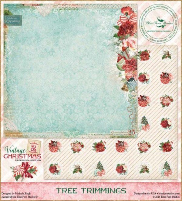 Vintage Christmas 2 - Tree Trimmings