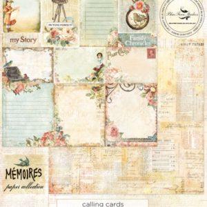 Mémoires - Calling Cards