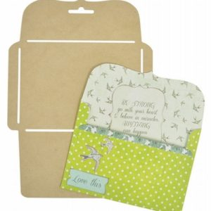 Card Bracket Envelope Template