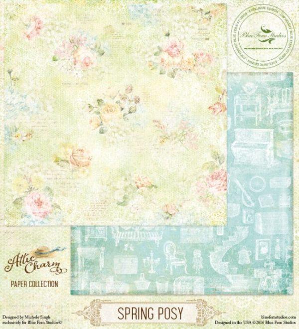 Attic Charm - Spring Posy