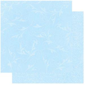 Powder Blue Flourish