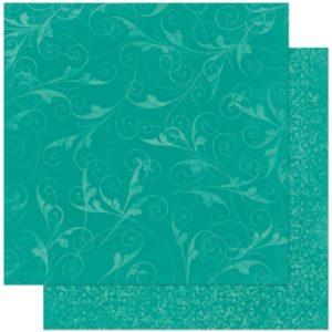 Turquoise Flourish