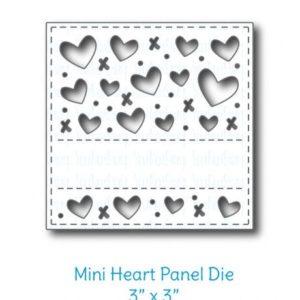 3 x 3 Heart Panel Die