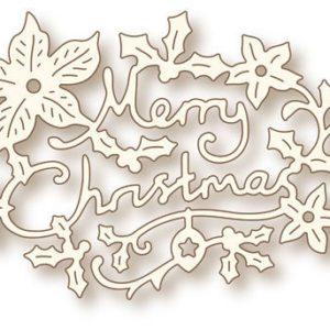 Christmas Greeting Die