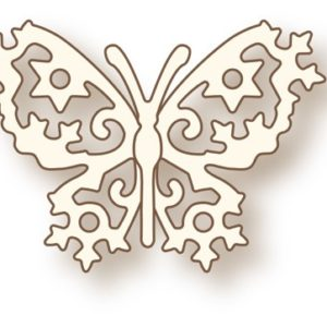 Little Frosted Butterfly Die