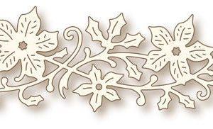 Poinsettia Swirl Die