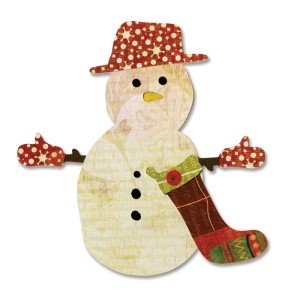 Snowman & Stocking