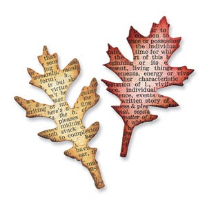 Mini Tattered Leaves