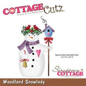 Woodland Snowlady