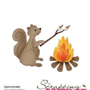 Campfire Squirrel